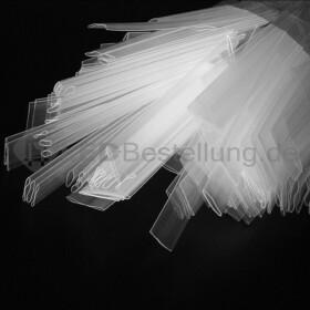 Schrumpfschlauch-Set transparent 12mm - 20mm Durchmesser 135 teilig 10cm lang