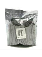 Schrumpfschlauch-Set weiß 1mm - 10mm Durchmesser 135 teilig 10cm lang