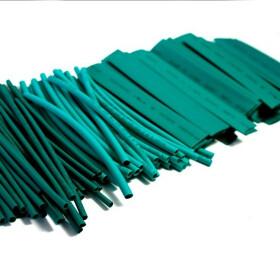 Schrumpfschlauch-Set grün 2mm - 20mm Durchmesser 111 teilig 10cm lang