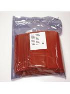 Schrumpfschlauch-Set rot 2mm - 20mm Durchmesser 111 teilig 10cm lang