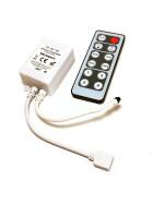 LED Dimmer + Fernbedienung für 12V-24V für SMD Leisten Strips
