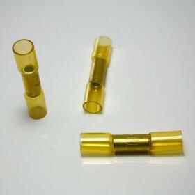 Stoßverbinder gelb 4,0mm²-6,0mm² Schrumpfverbinder Kabelverbinder