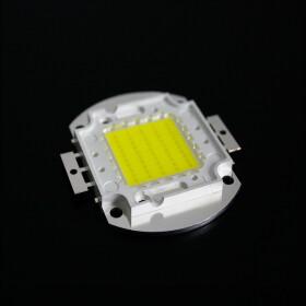 50W LED SMD Power Chip neutralweiß Wärmeleitpaste Lampe Licht COB 5500lm hell