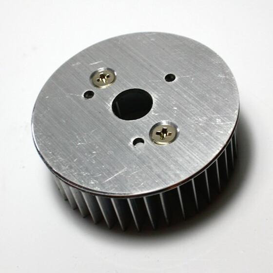 LED Kühlkörper rund Aluminium Wärmeableitung 50mm x 20mm