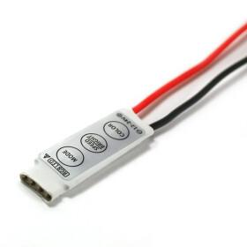 MINI RGB Controller mit 3 Tasten 12V - 24V