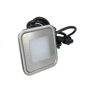 LED Sockelleuchte 0,6W Ultraslim 3000K warmweiß Treppen Stufen Lampe Leuchte Einbauleuchte