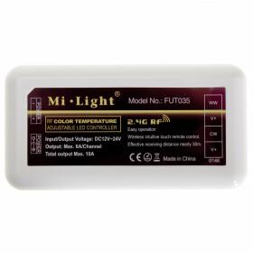 Mi-Light CCT Controller Dimmer FUT035 LED Streifen zweifarbig
