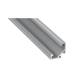 Profil Typ C Eckprofil 16,6 x 16,6 mm Möbelprofil Aufbauprofil Aluminium