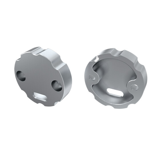 Endkappe für Profil COSMO Ring aus Aluminium