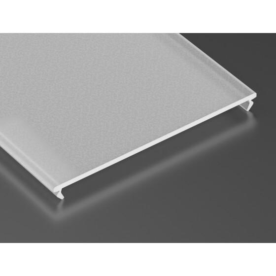 Profil Abdeckung SUPER WIDE aus Plexi-Glas