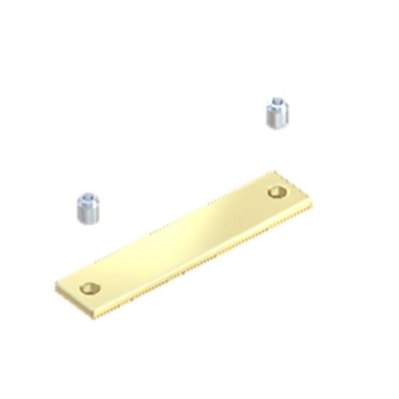 Verbinder gerader flach ohne Inbusschlüssel