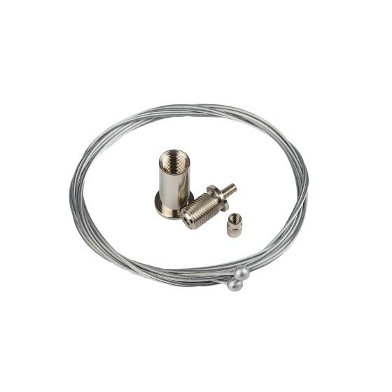 Stromführende Kabel als Aufhängung
