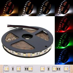 DEMODU® PREMIUM 12V LED Streifen RGB+CCT 5 in 1 5m 60...