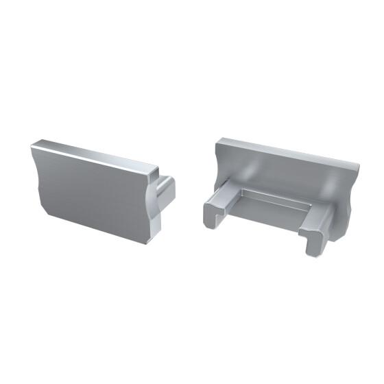 Endkappe für Profil A aus Aluminium