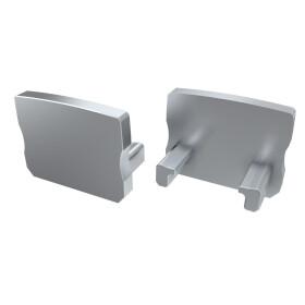 Endkappe für Profil A Hoch aus ABS Kunststoff