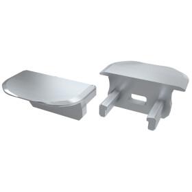Endkappe für Profil B einstellbar aus Aluminium