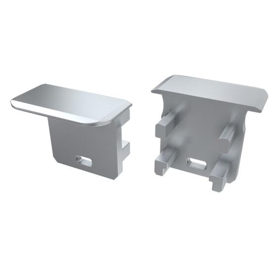 Endkappe für Profil G aus Aluminium