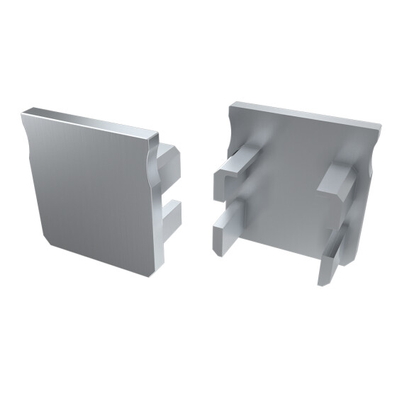 Endkappe für Profil Y aus ABS Kunststoff