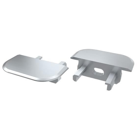 Endkappe für Profil Z aus Aluminium