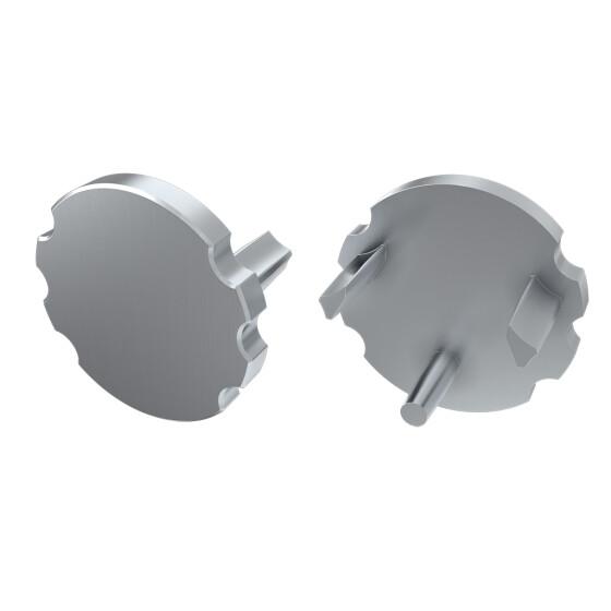 Endkappe für Profil MICO aus ABS Kunststoff