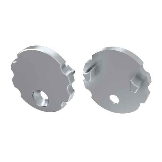Endkappe für Profil MICO aus Aluminium
