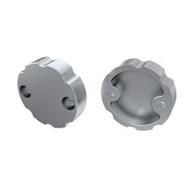 Endkappe für Profil COSMO aus Aluminium