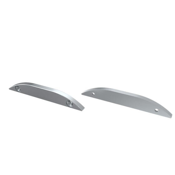Endkappe für Profil RETO 30° aus Aluminium