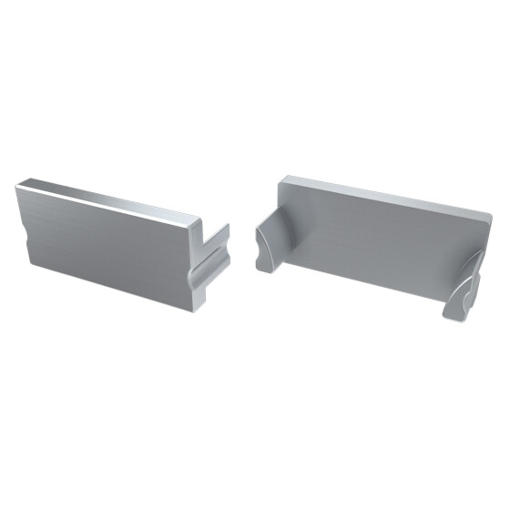 Endkappe für Profil TERRA aus Aluminium