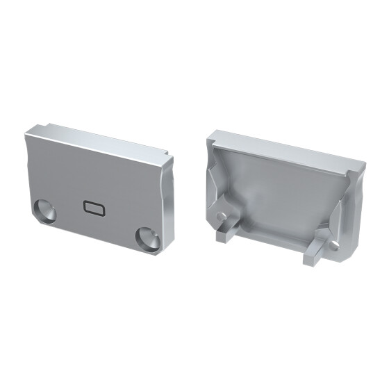Endkappe für Profil SILEDA Langloch aus ABS Kunststoff