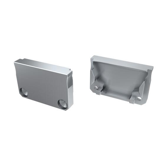 Endkappe für Profil SILEDA aus Aluminium