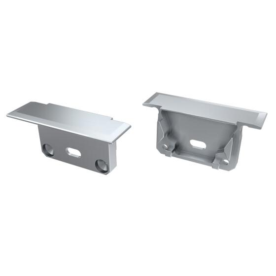 Endkappe für Profil INSILEDA aus Aluminium
