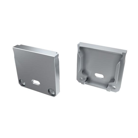 Endkappe für Profil DILEDA Langloch aus ABS Kunststoff