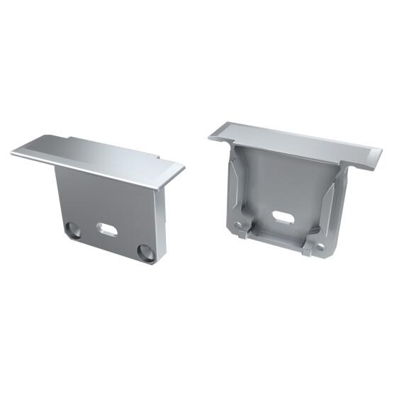Endkappe für Profil INDILEDA aus Aluminium
