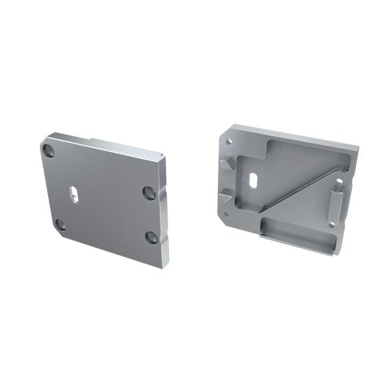 Endkappe für Profil UNICO aus Aluminium