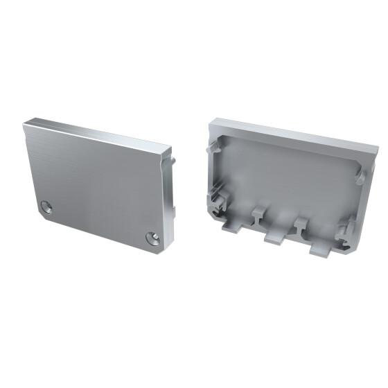 Endkappe für Profil ILEDO aus ABS Kunststoff