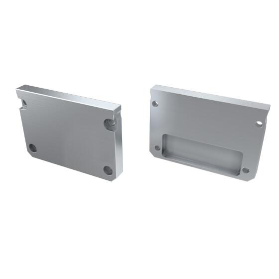 Endkappe für Profil ILEDO aus Aluminium