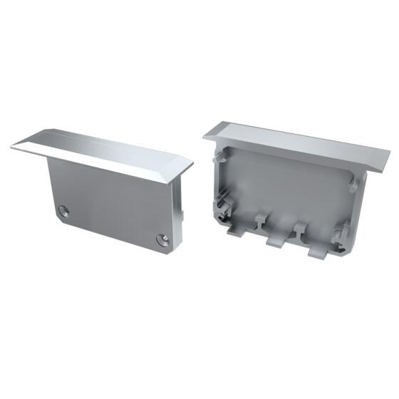 Endkappe für Profil INSO aus ABS Kunststoff