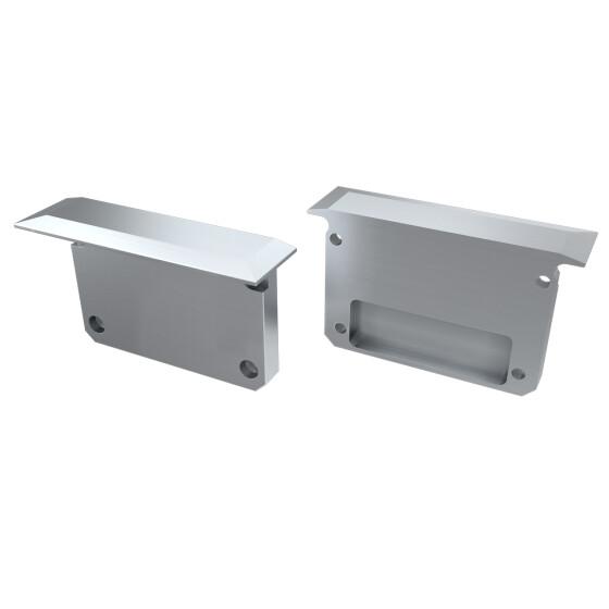 Endkappe für Profil INSO aus Aluminium