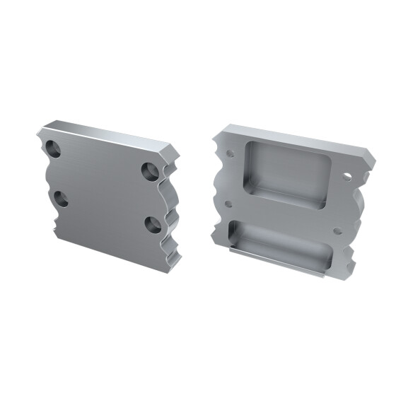 Endkappe für Profil TALIA aus Aluminium