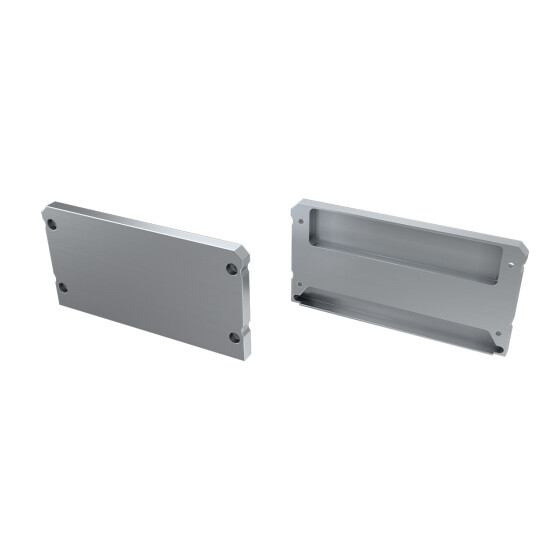 Endkappe für Profil LARGO aus Aluminium
