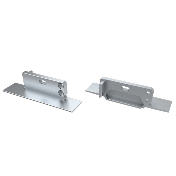 Endkappe für Profil ZATI aus Aluminium