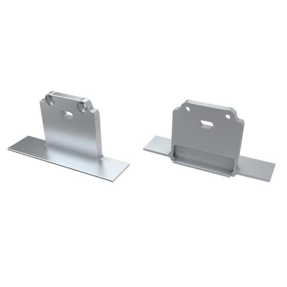 Endkappe für Profil SUBLI aus Aluminium
