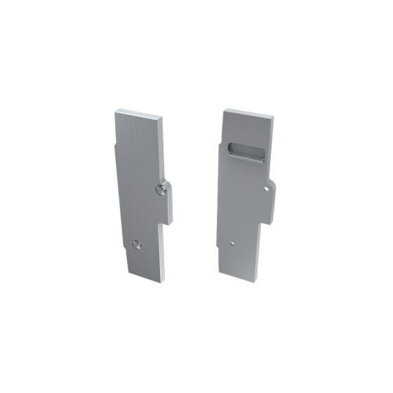 Endkappe für Profil TIANO aus Aluminium