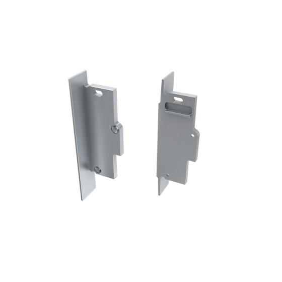 Endkappe für Profil TIANO verspachtelt aus Aluminium