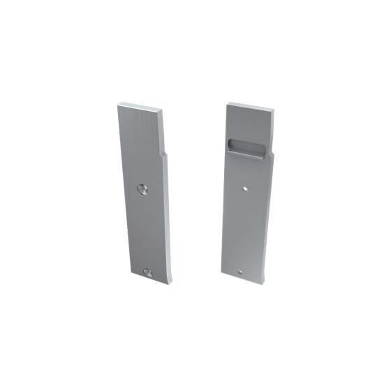 Endkappe für Profil FLARO aus Aluminium