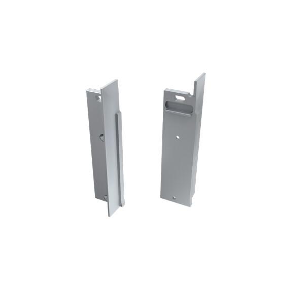 Endkappe für Profil FLARO verspachtelt aus Aluminium