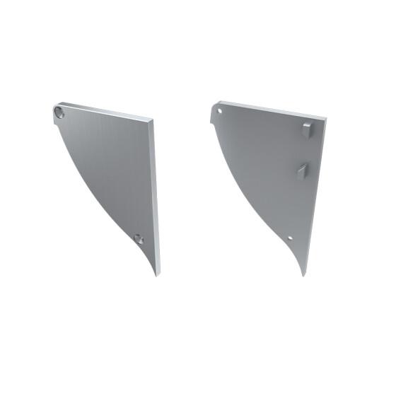 Endkappe für Profil CONVA aus Aluminium