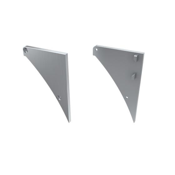 Endkappe für Profil LOGI aus Aluminium