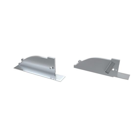 Endkappe für Profil TOPO aus Aluminium