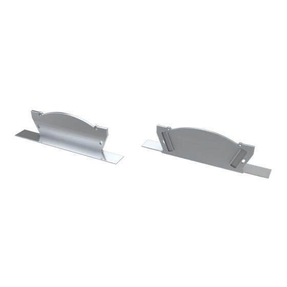 Endkappe für Profil VEDA aus Aluminium